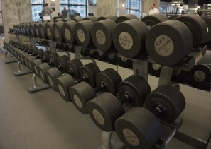 Lots of weights!